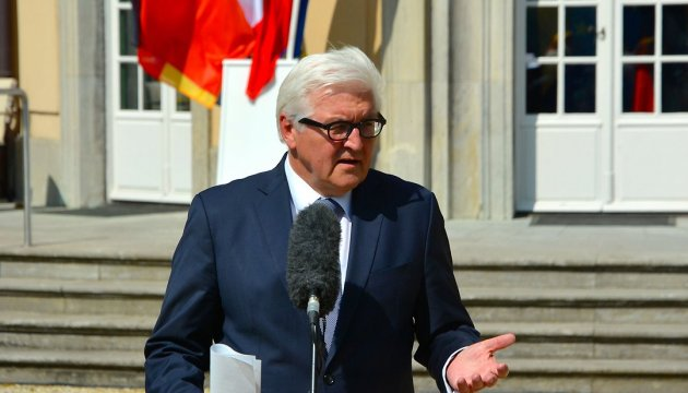 Steinmeier not rules out easing sanctions on Russia
