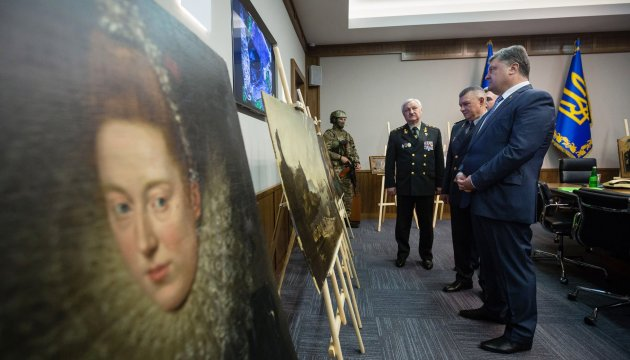 Ukrainian border guards seize paintings stolen from Italian museum in 2015