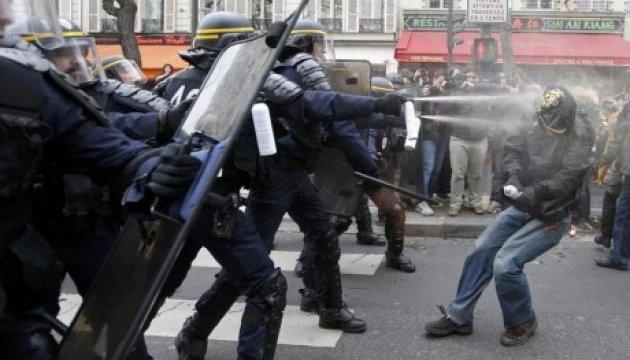 Французы протестовали против трудовой реформы