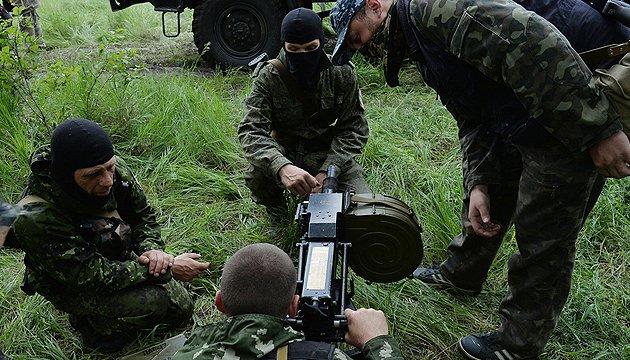 Бойовики засвітили свої позиції під Донецьком