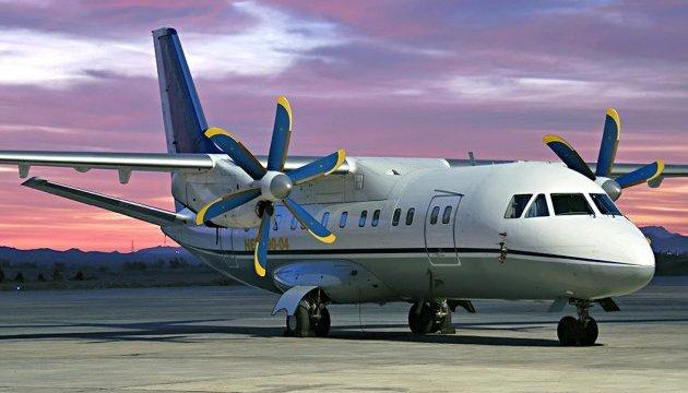Літак компанії «Мотор Січ» здійснив аварійну посадку у Києві
