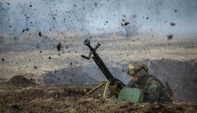 Militants launch 20 attacks on ATO troops in eastern Ukraine