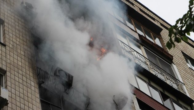 Поліція Одеси спростовує вибух під час пожежі у багатоповерхівці