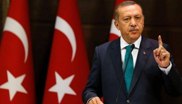 Ердоган: Байдуже, якщо Європа назве мене диктатором