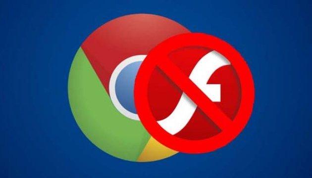 Браузер Google Chrome припинить підтримку Adobe Flash