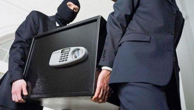 Воры вынесли из львовского обменника сейф с миллионом