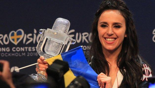乌克兰选手扎玛拉夺冠2016欧洲电视歌唱大赛