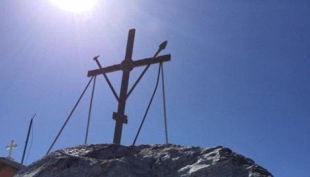Українці помолилися за мир в Україні на вершині Святої Гори Афон