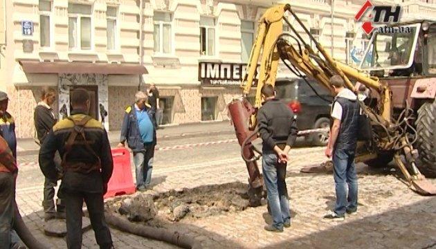 Аварія водогону паралізувала центр Харкова