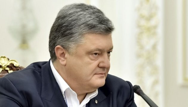 Poroshenko, Ayvazovska discuss results of Contact Group meeting