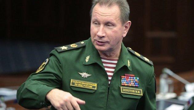 Глава Росгвардії обіцяє зробити з Навального