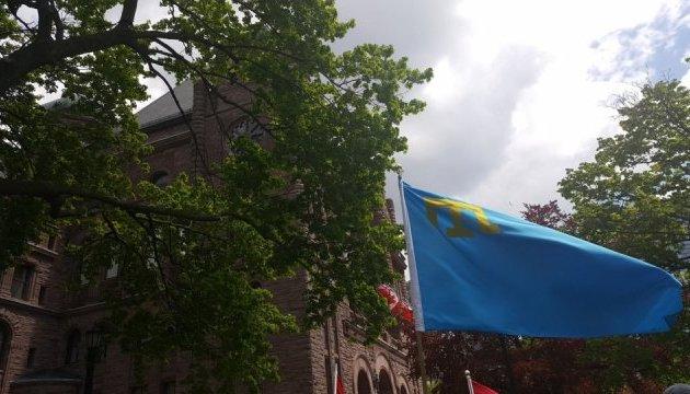 Кримськотатарський прапор замайорів над парламентом у Канаді