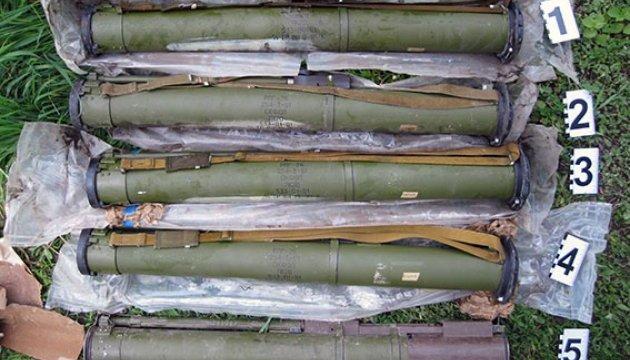 Під Харковом у лісі знайшли п'ять гранатометів