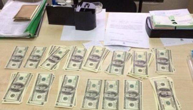 Голова райдержадміністрації погорів на $30 тисячах хабара