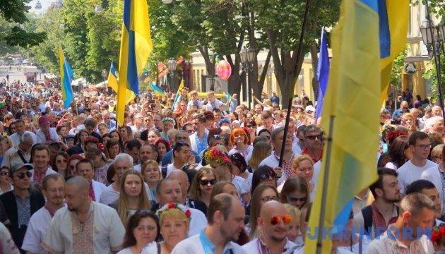 Больше 80% украинцев считают себя патриотами
