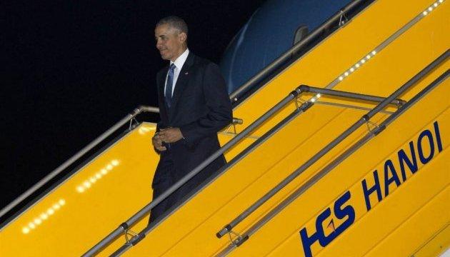 Обама прибув з історичним візитом до Хіросіми