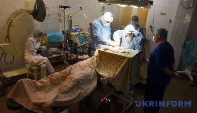 Трое раненых за сутки бойцов ООС - в мобильных госпиталях