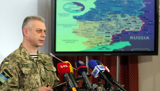 Le bilan de l'ATO: un militaire ukrainien tué et cinq autres blessés