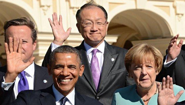 G7 leaders keep sanctions against Russia