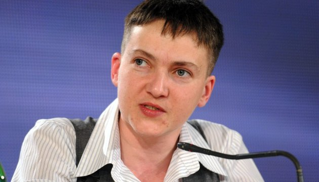 Nadiya Savchenko ready to participate in Minsk process