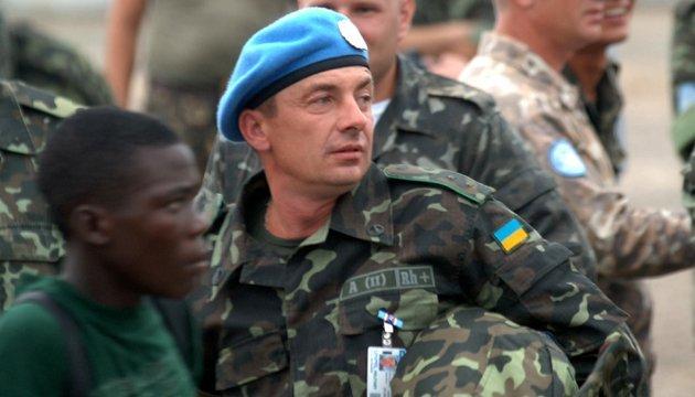 Порошенко привітав українських миротворців з професійним святом