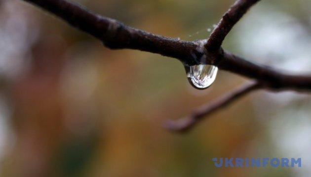 В понедельник запад Украины накроет сильными дождями