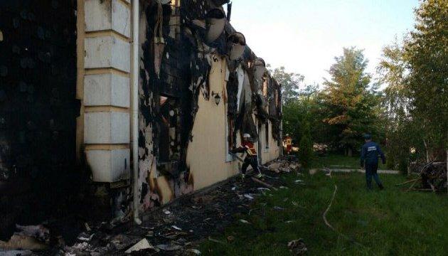 Пожар в Леточках: полиция задержала домовладельца