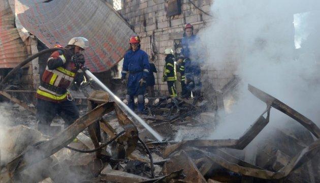 Спасатели назвали число погибших на пожаре в доме престарелых