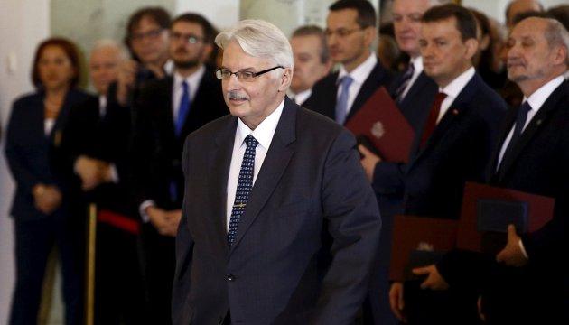 Polish Foreign Minister to visit Ukraine on September 13