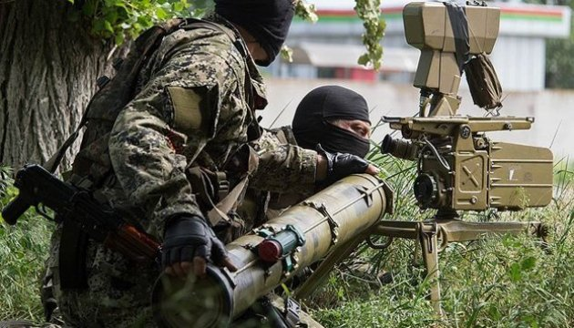 Militants launched 54 attacks on Ukrainian positions in Donbas in last day