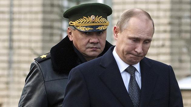 Сергій Шойгу, Володимир Путін / Фото: censoru.net