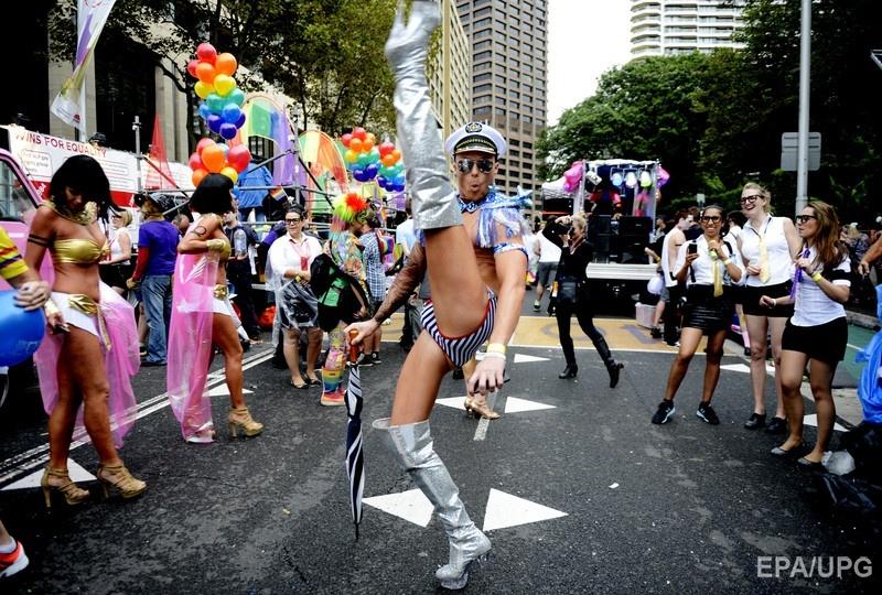 ЛГБТ прайс-парад в Сиднее (Австралия). 2013 год. Фото: ЕРА