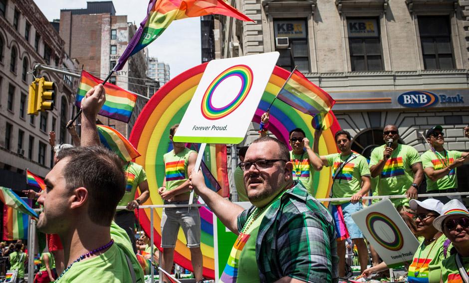 Нью-Йорк, США, 30 июня 2013 года. Фото: Andrew Burton / AFP