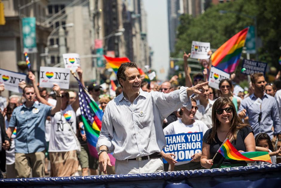 Губернатор штата Нью-Йорк Эндрю Куомо, Нью-Йорк, США, 30 июня 2013 года. Фото: Andrew Burton / Getty Images / AFP