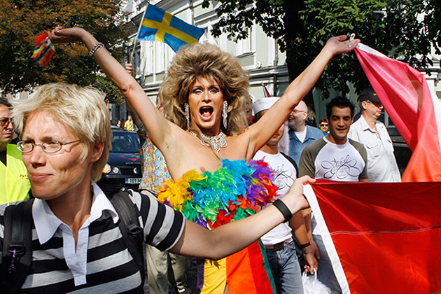 Гей-парад в Эстонии. Фото: Toms Kalnins, AFI / AP