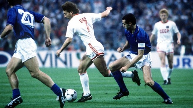 Збірна СРСР вийшла в фінал завдяки перемозі над італійцями. Фото: Getty Images