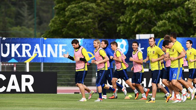 Сборная Украины по футболу / Фото: AFP/Getty Images