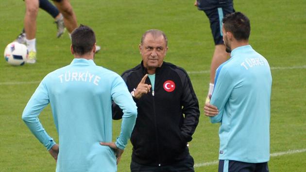 Тренеровка сборной Турциии/ Фото: AF