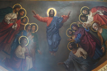 Cristianos del rito oriental celebran la Ascensión de Jesús
