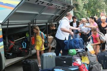 Le nombre de déplacés internes en Ukraine atteint  1,4 millions de personnes