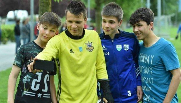 Коноплянка і Миколенко займалися за індивідуальною програмою перед матчами збірної