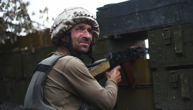 No losses among Ukrainian soldiers in ATO zone in past day