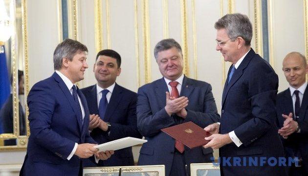 Україна та США підписали угоду про кредитні гарантії на мільярд доларів
