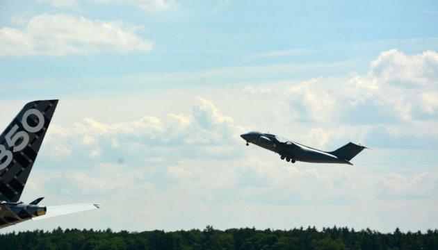 Український Ан-178 здійснив демонстраційний політ на авіасалоні в Берліні