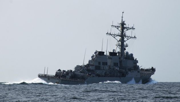 США заявили о трех инцидентах с российскими самолетами возле эсминца Porter