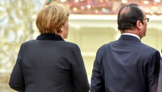 Меркель и Олланд не смогли договориться с Путиным о дате «нормандской встречи»