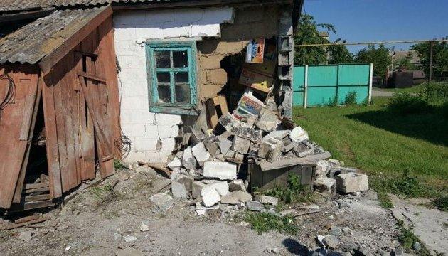 Штаб АТО показав наслідки обстрілу бойовиками Миколаївки