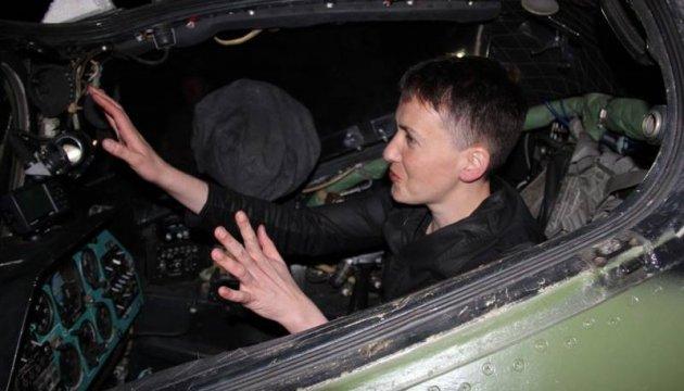 Sawtschenko besucht in der Nacht das ATO-Gebiet