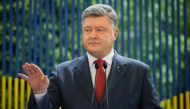 President Poroshenko congratulates Ukrainian Bible Society on 25th anniversary
