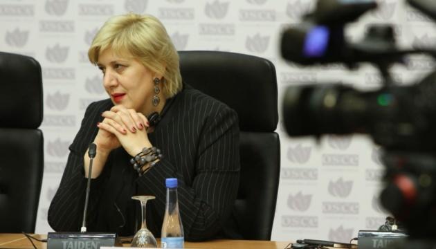 МИД рассчитывает на визит Миятович в оккупированный Крым с соблюдением всех процедур